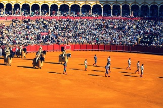 Plaza de toros de la Real Maestranza de Caballeria de Sevilla